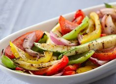 Liven up veggies with seasoned salt.