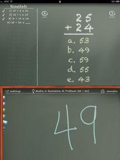 Insegnare matematica con l'iPad: MathBoard