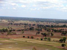 Rich fertile farmland abounds in the area.