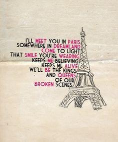 meet me in paris lyrics jonas