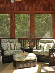 Cozy cabin porch! :-)