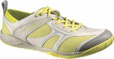 Merrell Dash Glove Minimalist Running Shoes Lime Zest Womens | eBay
