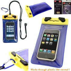 Samsung Galaxy S2 T-Mobile Hercules T989 DryPak Floating Waterproof Phone Holder Case with Lanyard & Belt Clip. Great for Camping, Boating, Swimming, Kyacking and Snorkeling. Comes with Antenna Booster and Radiation Shield. by Newyorkcellphone. $15.99. Floating Waterproof Cases [Smart Phone Case] 100% Waterproof Electronics Case Talk & Listen through the Case without Noticeable Loss of Volume Hermetically Seal Out Water, Sand & Dust with Simple Twist of the Knobs TPU Material i...