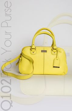 Cole Haan - Small Satchel in Lemon Ice. Go to wkrq.com to find out how to play Q102's Pick Your Purse!