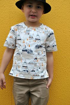 NEW RELEASE! The Kieran Shirt  boys pdf sewing pattern, children's sewing pattern sizes 2 to 12 years. Easy to sew pattern https://www.etsy.com/listing/196405388/new-release-the-kieran-shirt-boys-pdf?ref=shop_home_active_7