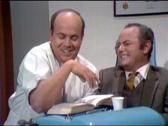 The Carol Burnett show - dentist sketch.  Tim Conway is hilarious.  Of course Harvey Korman struggles to keep a straight face!