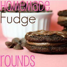 homemad fudg, fudg round, chocolate recipes