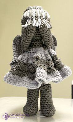Ravelry: Angel Doll pattern by Silverdragon Crafts & Critters $4
