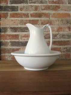 Ironstone Pitcher and Basin