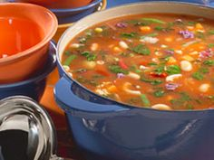Packed with good-for-us beans and vegetables, this is the most Italian of all soups. Did you know the word minestrone actually means soup in Italian? Our Hearty Minestrone Soup will transport you to Italy, no passport required!