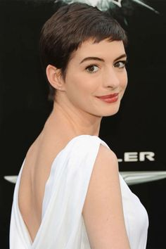 Anne Hathaway's lesson to the world: Don't be afraid of a pixie cut