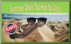 Summer is still lingering around...but so are the HOT deals at Yeagers Ace Hardware.