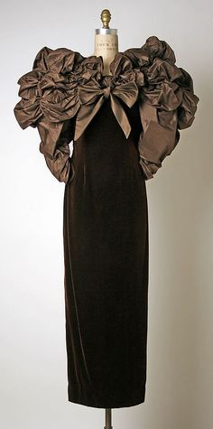 Dress, Evening Bill Blass Ltd.  (American, founded 1970)  Designer: Bill Blass (American, 1922–2002) Date: ca. 1988