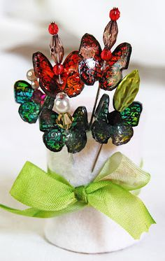 DIY Butterfly Pins