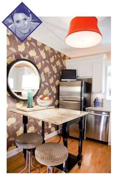 Decor ideas for small spaces.