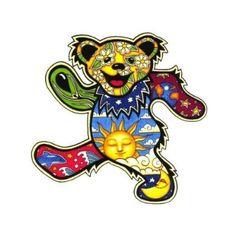 Dan Morris - Grateful Dead Dancing Bear - Sticker / Decal