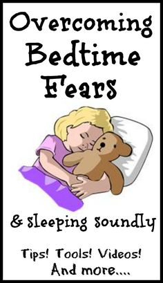 Lots of tips, tools, and resources for helping little ones learn to overcome a fear of the dark, monsters, and other bedtime fears!  Includes videos and interactive activities!