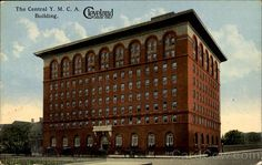 Central YMCA Building, Prospect Ave. Downtown Cleveland, OH Circa 1920