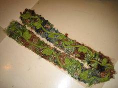 Oaky Leafy Scarf Free Pattern
