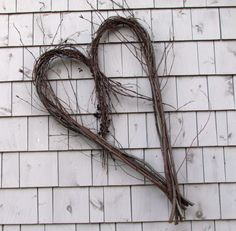 Rustic Heart Wreath from Eco Friendly Bentwood by SNLCreations