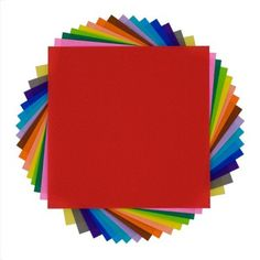 "ORIGAMI FOLDING PAPER Large - 5-7/8"" x 5-7/8"""