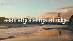 bucket list bucketlist, san francisco california, golden gate bridge, sanfrancisco, the bridge, travel, bridges, walk, bucket lists