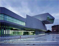 Museo nazionale delle arti del XXI secolo (MAXXI), Roma by Zaha Hadid