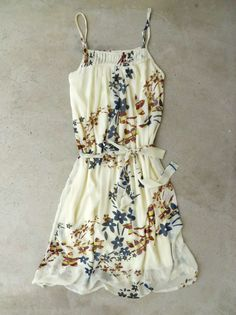 Sprouting Folk Art Dress