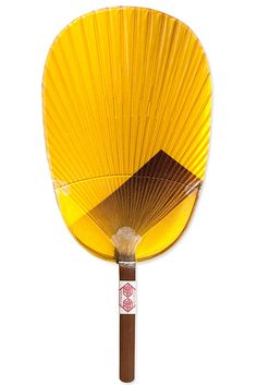 Japanese traditional water fan, Mizu-uchiwa 水うちわ - is made from Japanese washi paper and is dipped in water to enjoy a splash while fanning.