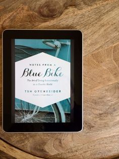What to do when you realize you've been living someone else's story, living the culture's default story, living a generic story with fill-in-the-blank details. Take back your story. #notesfromabluebike