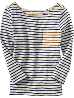 Multi Stripe Long Sleeved Tees $8