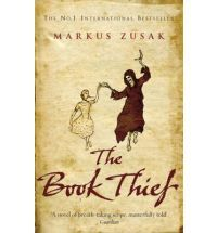 The Book Thief (Black Swan) (Paperback)  By (author) Markus Zusak.  Liesel, a nine-year-old girl, is living with a foster family on Himmel Street. Her parents have been taken away to a concentration camp. Liesel steals books. This book is a story of: a girl; an accordionist; some fanatical Germans; a Jewish fist fighter; and quite a lot of thievery.