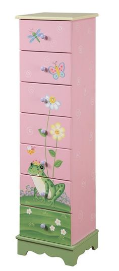 Teamson Magic Garden 7 Drawer Cabinet-