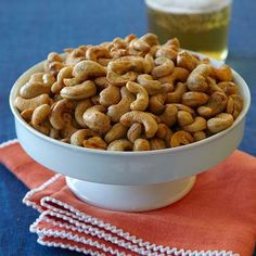 Thanksgiving recipes: Cumin-Roasted Cashews. This simple appetizer is full of flavor and will subdue an appetite until the feast is complete.