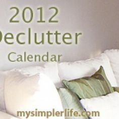 Decluttering this year!