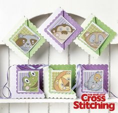 Animal antics – stitch & send cross stitch cards. Stitch up this set of character-filled cards, great for any occasion and to suit guys and gals, old and young alike. Look out for all six card ideas that are sure to raise a smile (and great to keep in your stash for a last minute!) Only in our new issue 221 of The World of Cross Stitching magazine