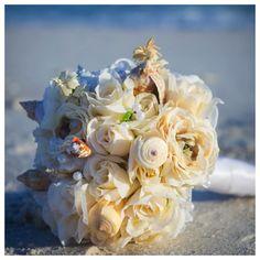 princess, bridal bouquets, bouquet destin, beach bouquet