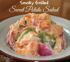 Smoky Grilled Sweet Potato Salad