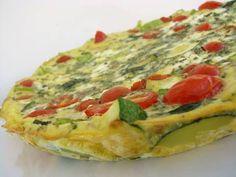 Summer Squash Fritatta #cleaneating #cleaneatingrecipes #breakfast #fritatta #squash #glutenfree #cleananddelicious