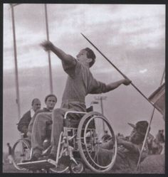 Giochi paralimpici di Roma 1960 Roberto Marson