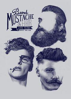 Barbershop - Dion Ochner by Estudio Blanka , via Behance