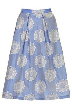 Antique Jacquard Midi Skirt - New In This Week - New In