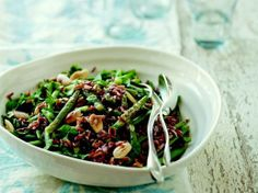 salad recip, french market, almond salad, market cookbook, green beans, almond butter, red rice, bean salads, serious eats