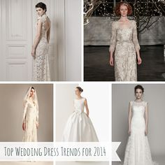 Top Ten Wedding Dress Trends for 2014 Part II  http://chicvintagebrides.com/index.php/bridal-wear/top-ten-wedding-dress-trends-2014-part-ii/