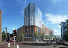 University of Ulster's Belfast City Campus Proposal / Feilden Clegg Bradley Studios