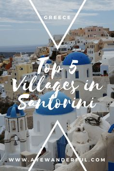 top 5 villages in Sa