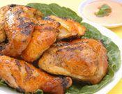 Nuwave oven, bbq chicken