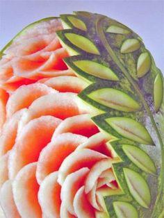 carved fruit