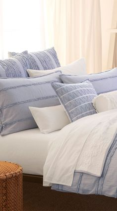 DKNY Pure Innocence Bedding Collection.