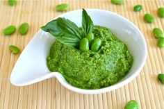 Edamame Spinach Pesto